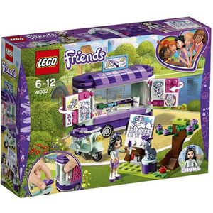 ASSEMBLAGE CONSTRUCTION LEGO® Friends 41332 Le stand d'art d'Emma