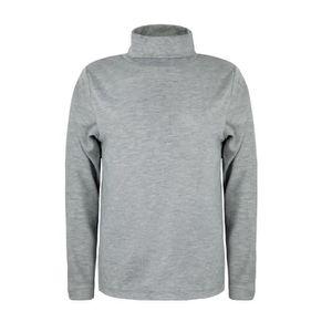 f991e52db0393 T-SHIRT T-shirt Enfant Col Roulé Manches Longues Jersey Co