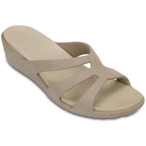 cf64eb2730f SABOT Crocs sanrah des femmes sandale de coin moulantes ...