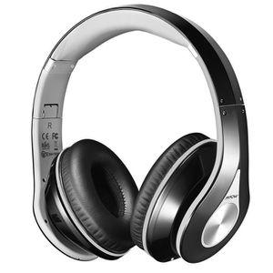 CASQUE - ÉCOUTEURS Mpow® Casque Bluetooth Sans fil, Casque Audio MP3