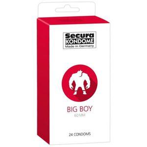 PRÉSERVATIF 24 Préservatifs Grand Format - Big Boy