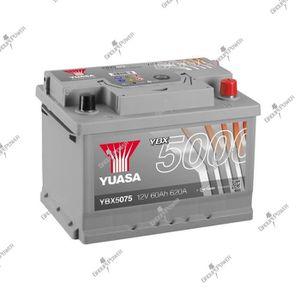 BATTERIE VÉHICULE Batterie auto, voiture YBX5075 12V 60Ah 620A Yuasa