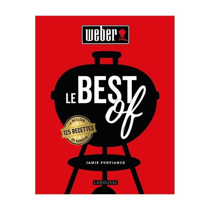 """Livre de recettes """"Le Best Of Weber"""""""
