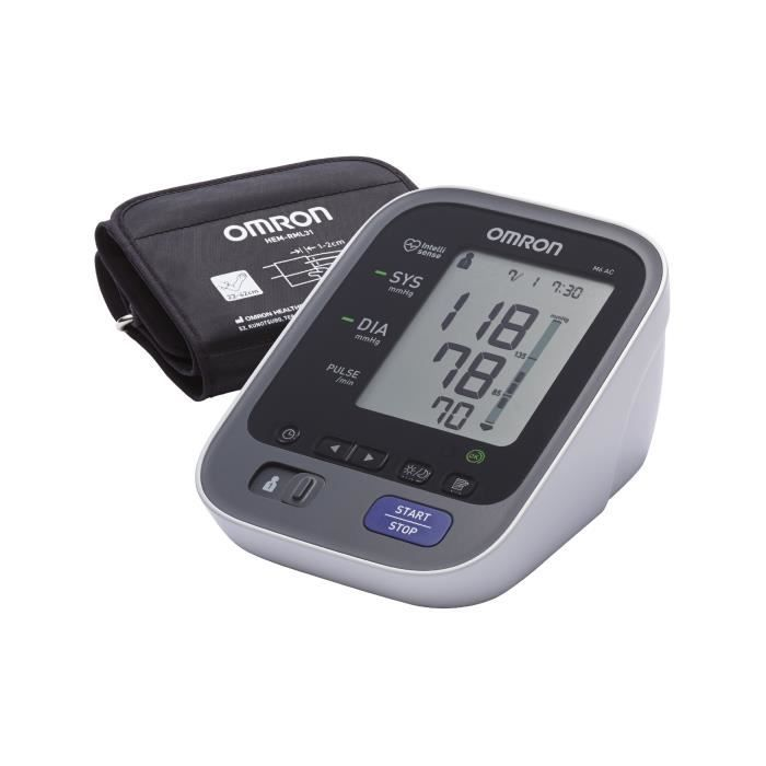 OMRON M6 AC -Tensiomètre avec Adaptateur secteur