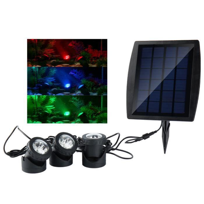 projecteur piscine solaire achat vente pas cher. Black Bedroom Furniture Sets. Home Design Ideas