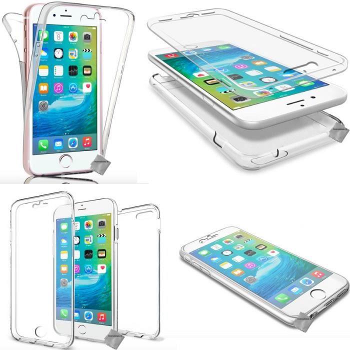 coque 360 silicone iphone 8