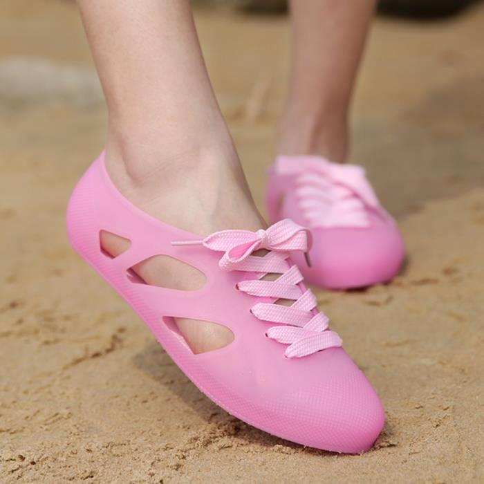 Étudiants coréens simple résistance à l'usure Chaussures Sandales de femme