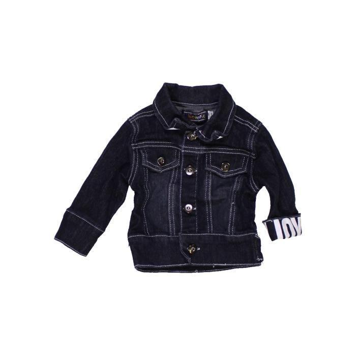 Chicaprie Veste Vêtement Garçon Noir Mois 990214 Bébé Été 3 ZZEwBASq