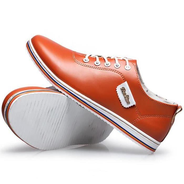 Sneaker homme 2017 ete Cuir Qualité Supérieure Confortable Marque De Luxe Moccasins hommes Nouvelle arrivee Chaussures ygcGc