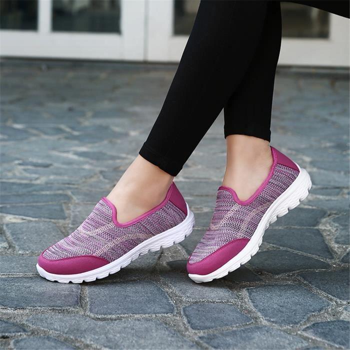 Poids Chaussures Sneakers Loisirs1 Léger Sandale Antidérapant Femme Extravagant Grande Taille Moccasins Classique 8nOPwX0k