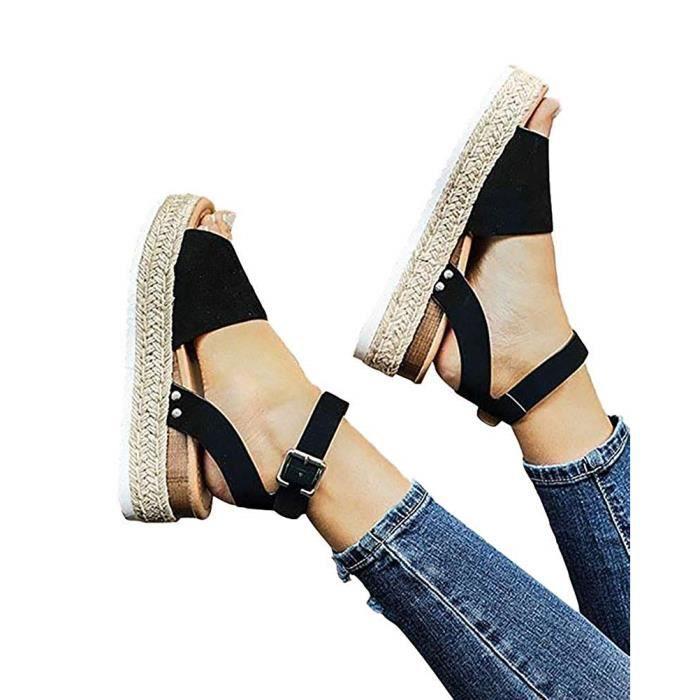 chaussures authentiques chaussures de séparation qualité supérieure Sandale plate