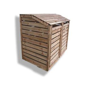 Cache poubelle achat vente cache poubelle pas cher for Cache poubelle exterieur