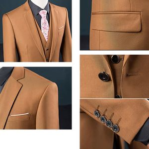 ... COSTUME - TAILLEUR Costume Homme Formel 3 Pièces Un Bouton Business M  ... d67fe2307b4