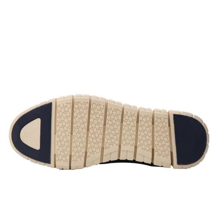 Mode Homme Bottine Boots en Cuir Chaussure Bleu...