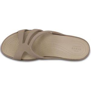 b4dfd69c7b2 ... SABOT Crocs sanrah des femmes sandale de coin moulantes. ‹›