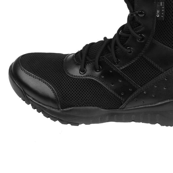 Ld Desert Boots & Bottes Jungle pour les hommes léger à lacets Microfibre - velour cuir combat Boo FKTS9 Taille-46