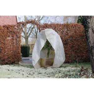 NATURE Housse d'hivernage 70 g/m? - ?200 cm x 2,50 m - Beige