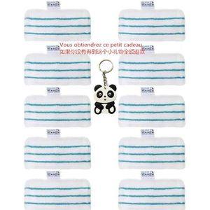 NETTOYEUR VAPEUR Lot de 10 tampons de Nettoyage de Rechange lavable