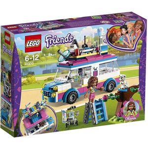 ASSEMBLAGE CONSTRUCTION LEGO® Friends 41333 Le véhicule de mission d'Olivi