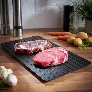 RANGE ASSIETTE Aliments congelés rapidement en aluminium dégivrag