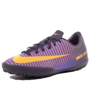 CHAUSSURES DE FOOTBALL Mercurialx Vapor XI TF Garçon Chaussures Futsal Vi  ... e8953383260c