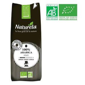 CAFÉ - CHICORÉE NATURELA Café 100% Arabica Expresso n°1 Bio 250g