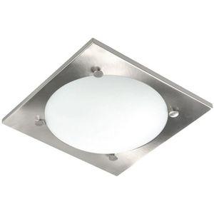 PLAFONNIER Plafonnier de salle de bain Valdo 28x28 cm E27 60W