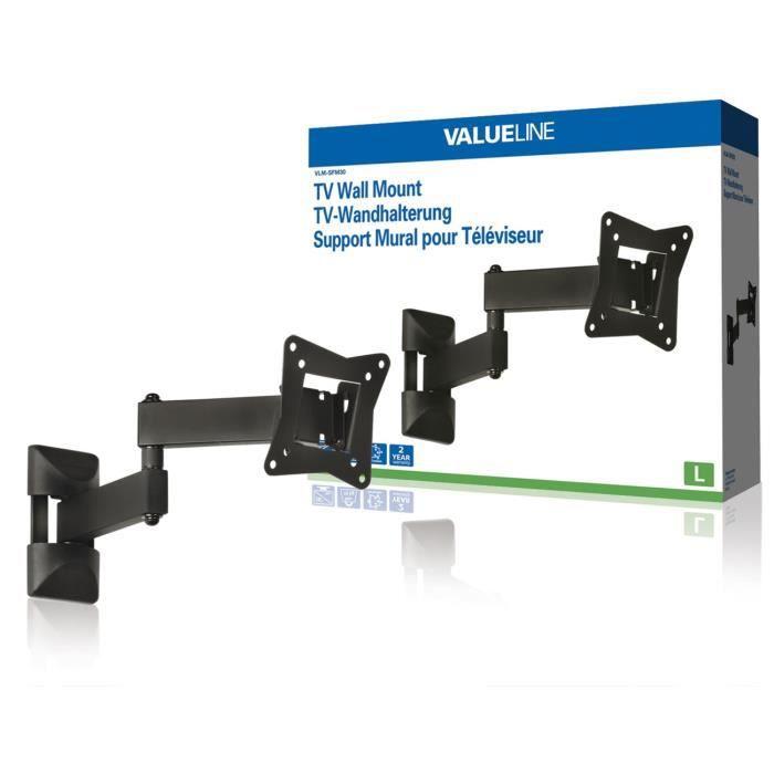 FIXATION - SUPPORT TV Support mural à mobilité intégrale pour TV 10 - 26 f075b8c4765e