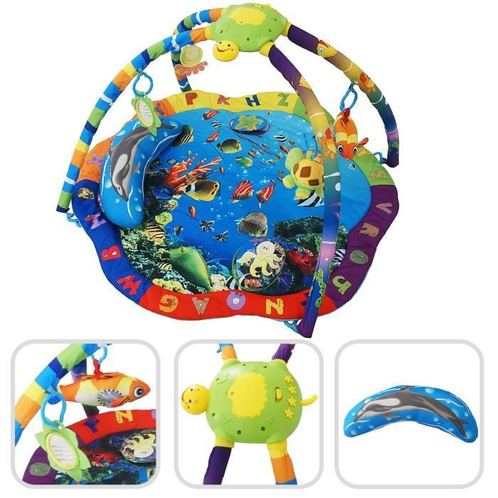 Awesome tapis de jeu bebe 1 an gallery awesome interior home satellite - Tapis d eveil fisher price zoo deluxe ...