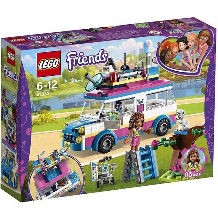 Mission Véhicule D'olivia 41333 Le De Lego® Friends FcuK1J3Tl