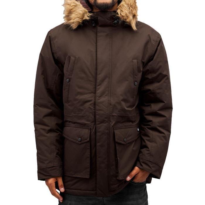 0122b4415014 Dickies Homme Vestes   Blousons   Veste d hiver Curtis Brun - Achat ...