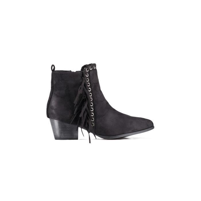 Boots Vanessa Wu Noir Femme ZYzQm