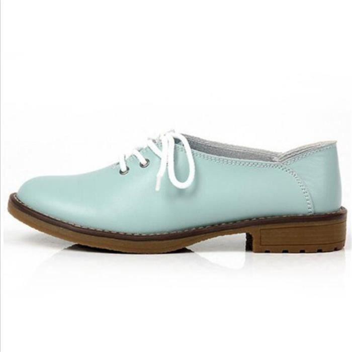 Chaussure femmes Nouvelle arrivee Durable Classique Cuir véritable Mocassin de plein air hydrofuge Grande Taille 35-40