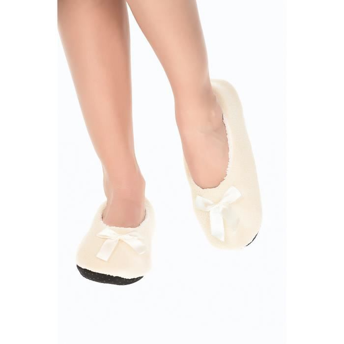 Chausson Hi Style Charnelle - Pony - Couleur Beige - Taille 35-38