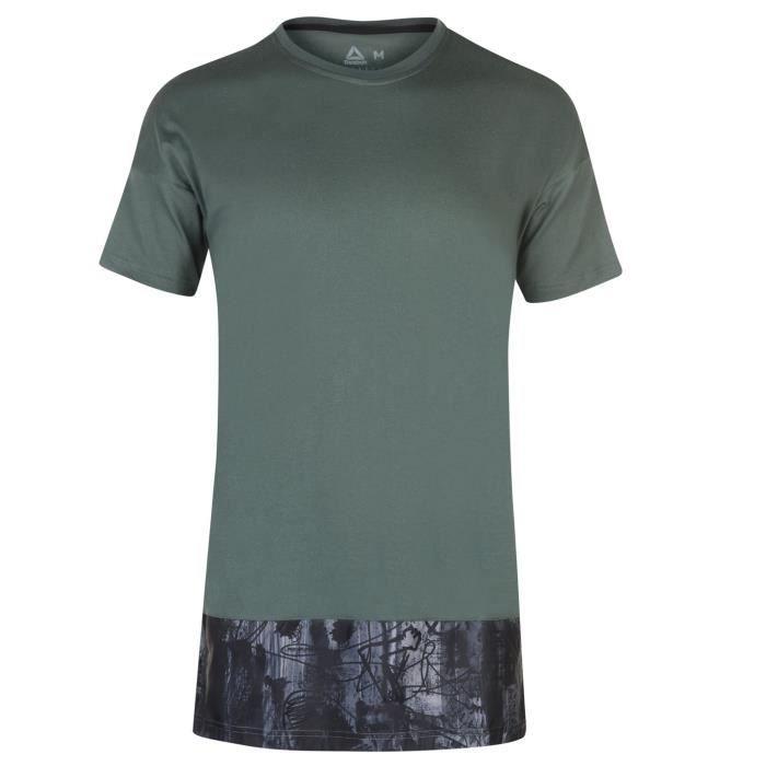 Reebok T Shirt D'Entrainement Manche Courte Homme