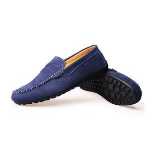 Mocassins Hommes Printemps Ete Leger Mode Chaussures MMJ-XZ077Noir44 j3FZcgcZJJ