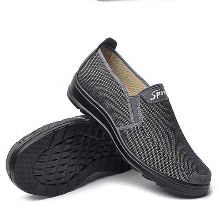Bout rond d'homme Souliers simple Chaussures Mocassins Mode Respirant Casual