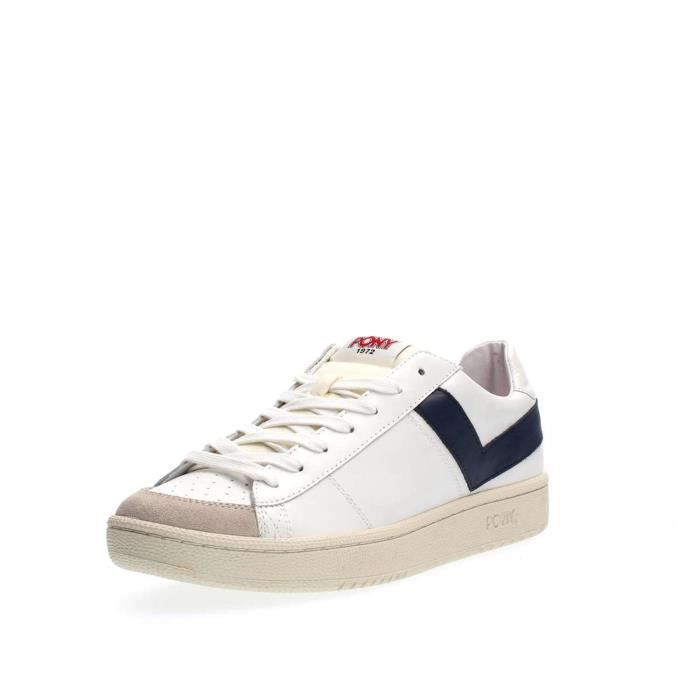 PONY SNEAKERS Homme OFF WHITE/NAVY, 42