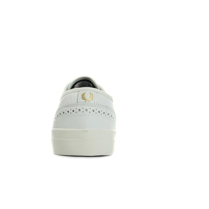 Baskets Fred Perry Barson Brogue LeatherWhite