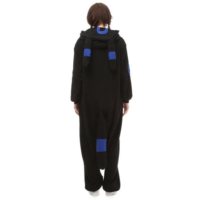 fz074noir m Jxg Cosplay Fantôme Hiver Animé Adulte Kigurumi Pyjama Femme Bleu Homme PPTzv
