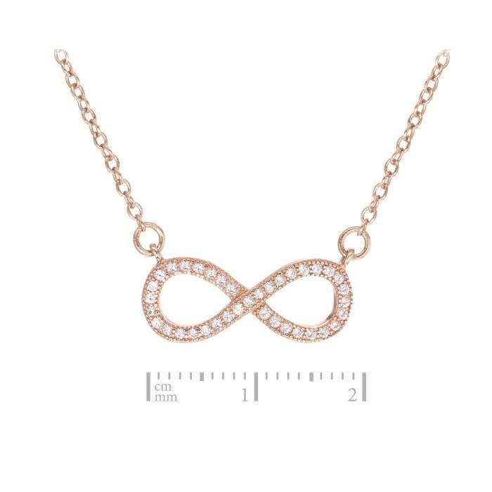 Fine Necklace Bracelet Anklet Argent 925-1000 Rond 44.5 Centimeters Z8P0R