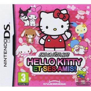 JEU DS - DSI FAIS LA FETE AVEC HELLO KITTY ET SES AMIS / DS