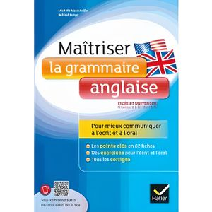 LIVRE ANGLAIS Maîtriser la grammaire anglaise