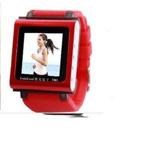 LECTEUR MP3 (Rouge) avec le député écran USB carte de lecteur