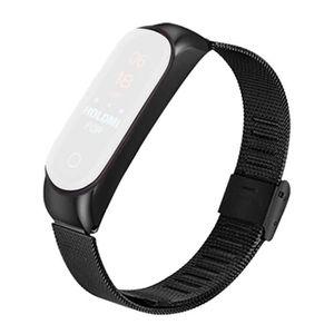 MONTRE CONNECTÉE Montre bracelet en acier inoxydable bracelet montr