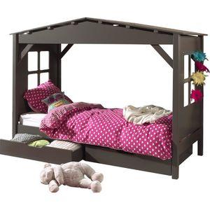 lit 2 places avec sommier et rangement achat vente lit 2 places avec sommier et rangement. Black Bedroom Furniture Sets. Home Design Ideas
