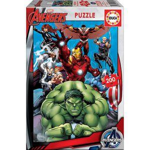 PUZZLE EDUCA - Puzzle Avengers 200 pcs