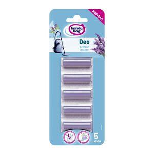 PARFUM ASPIRATEUR HANDY BAG 214334 Pack de 5 parfums pour aspirateur