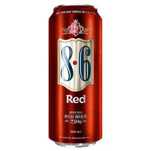 BIÈRE 8.6 Red 50cl (lot de 48 canettes)
