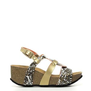 SANDALE - NU-PIEDS Bio3 Save The Queen sandales wedge or -height: 6cm